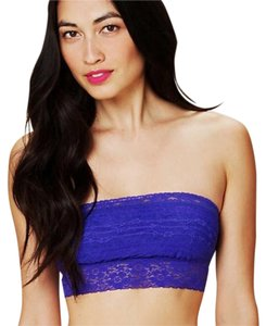 Free People Top Deep electric blue