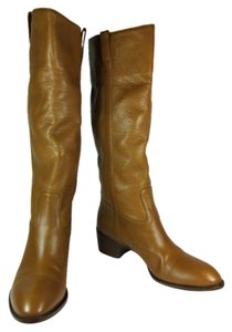 Gucci Brown Leather Riding Tall Boots