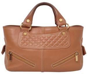 Cline Satchel in Tan