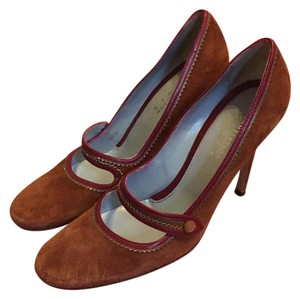 Lambertson Truex Cognac Brown Pumps