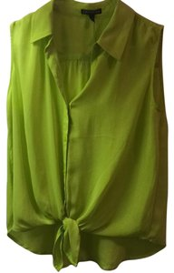Express Top Lime green
