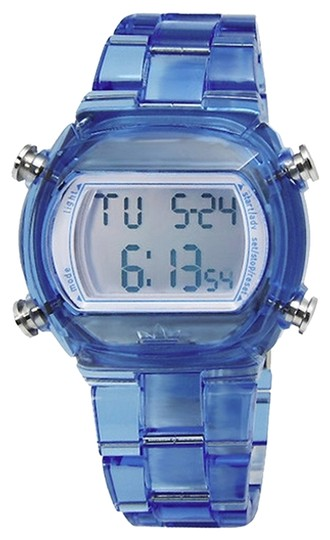 adidas ADH6507 Unisex Sports Watch Clear Blue Digital