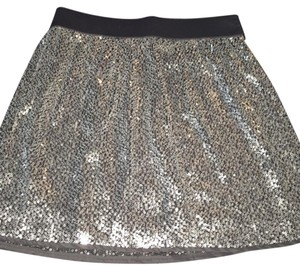 Gap Mini Skirt Silver