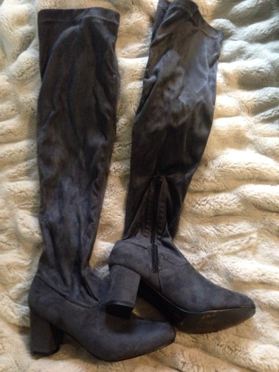 No doubt Grey Boots Image 1