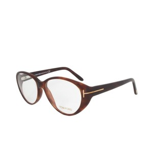 Tom Ford Tom Ford FT5245 052 Tortoise Brown Rounded Eyeglass Frames