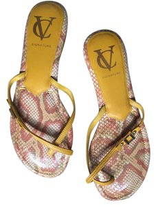 Vince Camuto Yellow Sandals