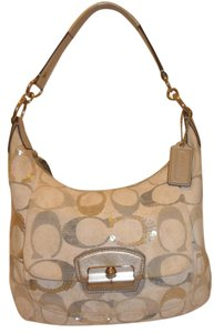 Coach Refurbished Monogram Jacquard Shoulder Bag