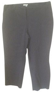 Dalia Trousers Stretch Straight Pants Black