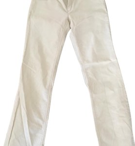 J.Crew Boot Cut Pants Off-white