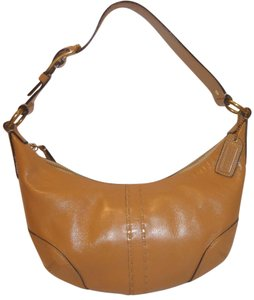 Coach Refurbished Leather Shoulder Bag