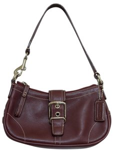 Coach Leather Soho Buckle Vintage Demi Hobo Bag