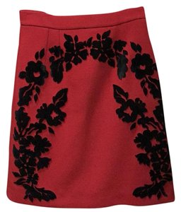 Dolce&Gabbana Skirt Red and black