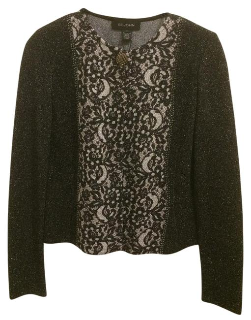 Item - Black and Silver Cardigan Size 2 (XS)