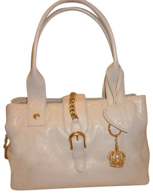 Item - With Dust White Leather Hobo Bag