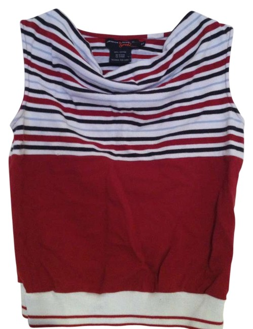 Triple Five Soul Top Red, Navy, White
