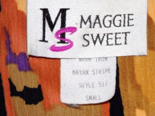 Maggie Sweet Maggie Sweet Pant Suit Three Piece Button Front Tunic Top 2 Pants Image 10
