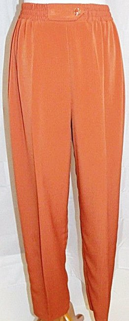 Maggie Sweet Maggie Sweet Pant Suit Three Piece Button Front Tunic Top 2 Pants Image 4