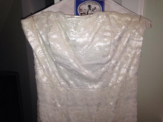 Galina Ivory Lace Vw9340 Feminine Wedding Dress Size 8 (M)