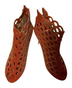 Forever Yours Studded Red Boots
