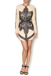 Endless Rose Night Out Longsleeve Lace Cocktail Dress