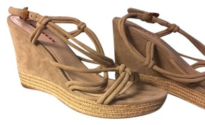 Prada Espadrille Wedge Pearl gray Wedges