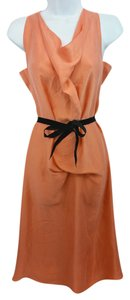 Roland Mouret short dress Coral Silk on Tradesy