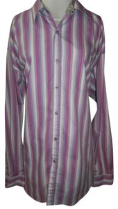 BROOKLYN XPRESS Brand New Longsleeve Button Down Shirt multi-color