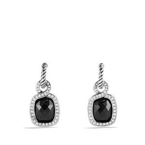 David Yurman David Yurman Labyrinth Drop Earrings with Black Onyx and Diamonds