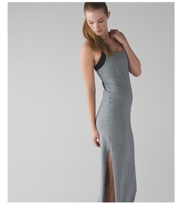 heathered medium grey Maxi Dress by Lululemon