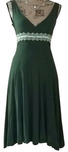 Free People short dress green Vintage on Tradesy