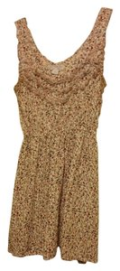 Cotton On short dress Beige Floral on Tradesy