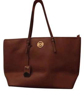 bebe Tote in Tan