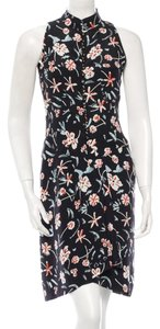 Chanel short dress Sleeveless Silk Vintage Floral on Tradesy