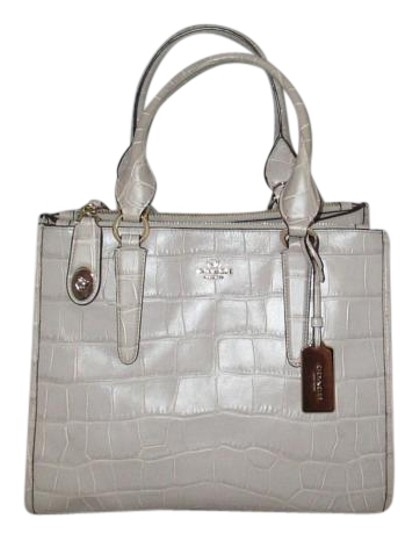 Coach Next Day Shipping Satchel in GREY Image 1