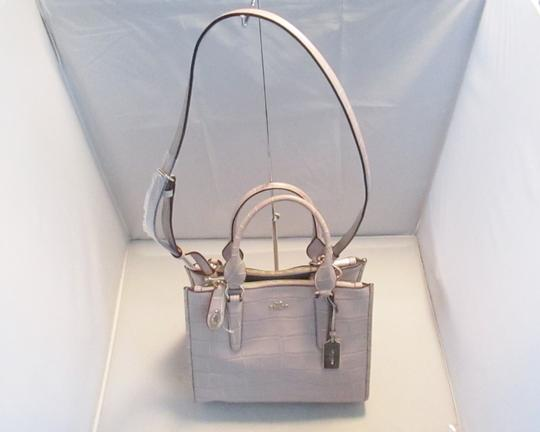 Coach Next Day Shipping Satchel in GREY Image 2