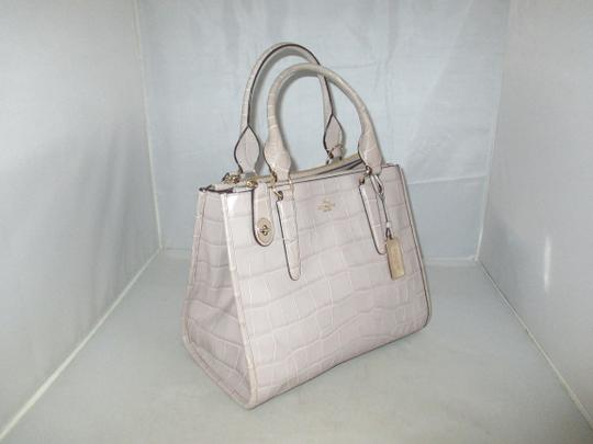 Coach Next Day Shipping Satchel in GREY Image 3