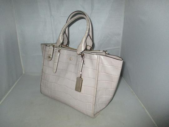 Coach Next Day Shipping Satchel in GREY Image 4