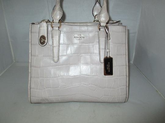 Coach Next Day Shipping Satchel in GREY Image 5