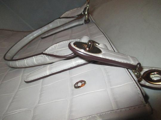 Coach Next Day Shipping Satchel in GREY Image 7