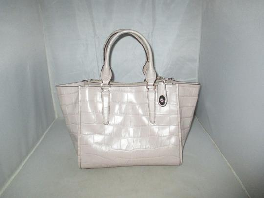 Coach Next Day Shipping Satchel in GREY Image 9