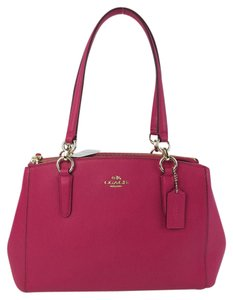 Coach Christie Structured Tote Cross Body Bag