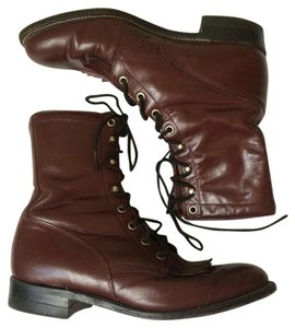 Justin Boots Maroon Boots