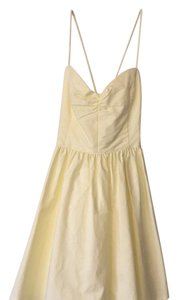 American Apparel short dress Yellow on Tradesy