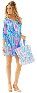 Lilly Pulitzer short dress Bay Blue Out To Sea Ali on Tradesy