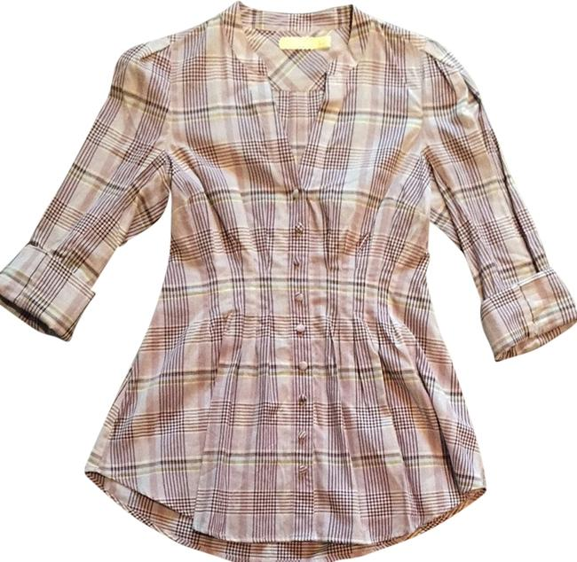 Pins and Needles Button Down Shirt Multi