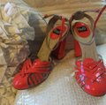 Dolce&Gabbana Patent coral Sandals Image 1