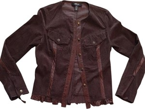 Miller girl by Nicole Miller Brown Jacket