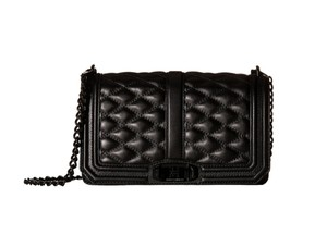 Rebecca Minkoff Love Chain Leather Cross Body Bag