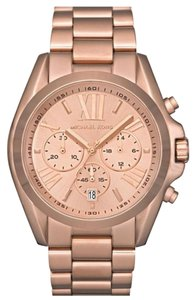 Michael Kors Oversize Bradshaw Rose Gold Tone Watch