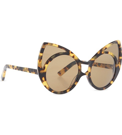 Linda Farrow Pointy Cat Eye Sunglasses Image 1